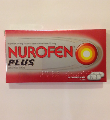 NUROFEN PLUS + 24 CAPS Exp 2020 FAST DISPATCH 1 business day FREE SHIPPING