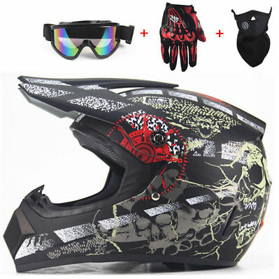 72| Casque De Moto Cross Motocross Enduro Trail Quad Protection Moto-Cross