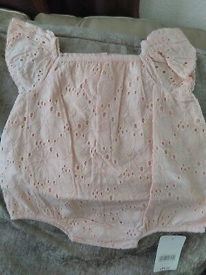 MOTHERCARE  Baby Girls Romper New Born  New
