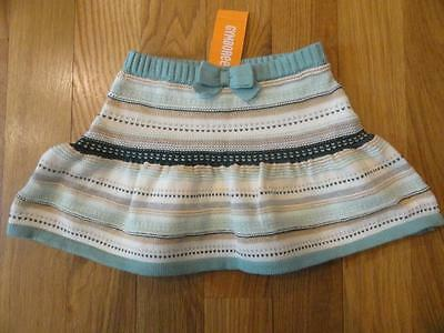 Gymboree All Spruced Up Green Gold Fair Isle Sweater Skirt 4T 5T Nwt 2016