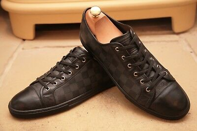 65d4ac966276 AMAZING LOUIS VUITTON and Kanye West Black Suede Trainers Hi-tops ...