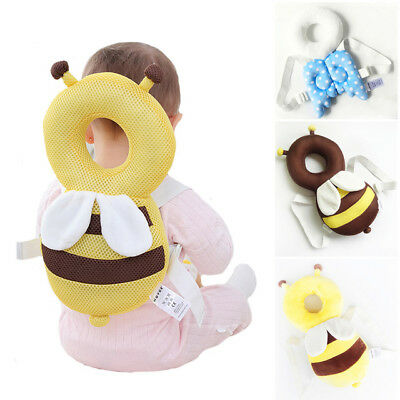 Baby Kids Head Protection Pillow Pad Toddler Head&Back Protector Cushion