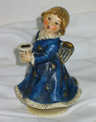 Vintage 1966 W. Goebel HX 328 MJ Hummel Angel - Brahms Lullaby Musical Figurine