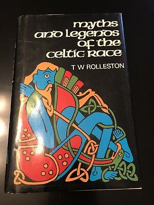 Myths And Legends Of The Celtic Race Rolleston 1985 Vintage