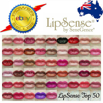 Lipsense Liquid Lip Colour 50+ Colours / Gloss 100% GENUINE!  *REGISTERED POST**