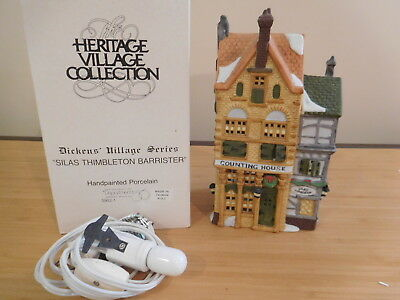 Dept 56 Dickens Village - Silas Thimbleton Barrister