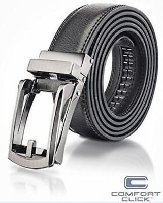 HOT NEW Comfort Click Belt for Men Black or Brown As Seen on TV black