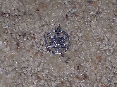 Jewish star (Sterling silver from Israel)