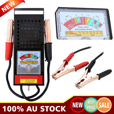 Battery Analyzer 6-12V 0-100A Car Truck Battery Load Tester 100AMP AU Stock