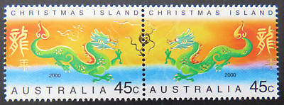 Christmas Island 2000 Year of the Dragon MNH