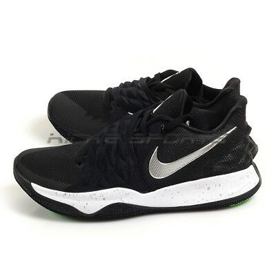 reputable site 7d1b3 fa33f Nike Kyrie Low EP Black Metallic Silver Irving Basketball Shoes 2018  AO8980-003