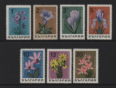 Bulgaria 1968 Wild Flowers (Sg1784/90) *mint Never Hinged*