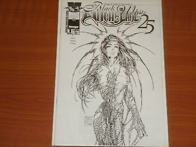WITCHBLADE 25 Issue #1 Top Cow Classics 'In Black & White' Image Comics May.2001