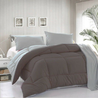 All-Season Reversible Down Alternative Hypoallergenic Comforter Set