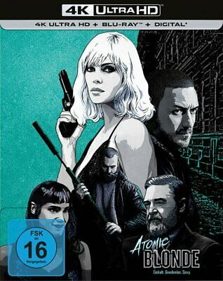 Atomic Blonde - 4K Ultra HD Blu-ray + Blu-ray / Steelbook # UHD+BLU-RAY-NEU
