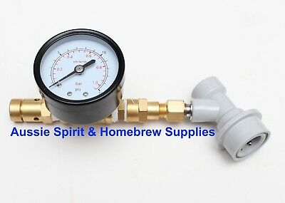 C02 Adjustable Pressure Relief Valve Ball lock Spunding Valve Homebrew Beer PRV