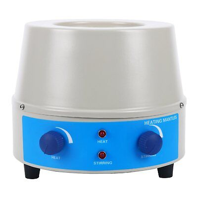 250ml 150W Electric Magnetic Stirring Heating Mantle Temperature Control 110V