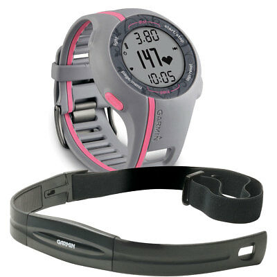 Garmin Forerunner 110W GPS HR Heart Rate Monitor Pink Womens Sports Watch