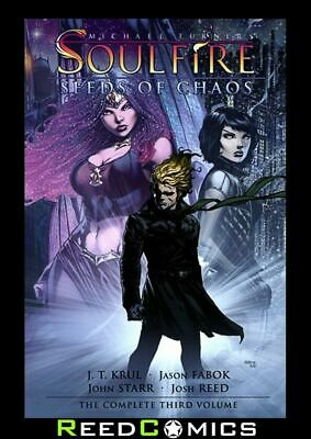 MICHAEL TURNER SOULFIRE VOLUME 3 SEEDS OF CHAOS GRAPHIC NOVEL (224 Pages)