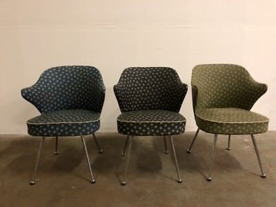 Thonet Style Dining/Reception Chairs Chrome Sprungbase Vintage Mid Century(1/3)