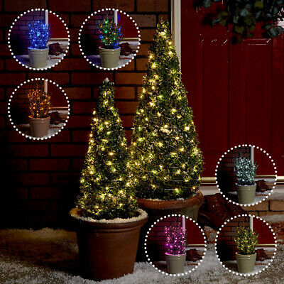 Festive Lights 2/10/20m Battery Power Outdoor LED Firefly Wire Fairy Lights