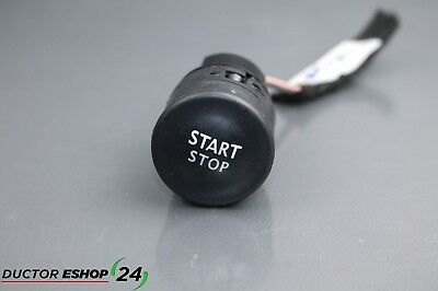2014 RENAULT ZOE / ELECTRIC / start stop engine motor switch button