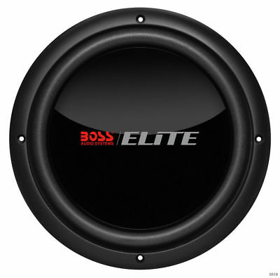 """New! Boss BDVC10 1500 Watt (750W RMS) 10"""" Inches Dual 4 Ohm Car Audio Subwoofers"""
