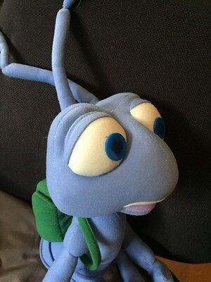 "Disney Pixar Large 30"" Tall Flick. A Bugs Life, Talking Vibrating Plush VGC"