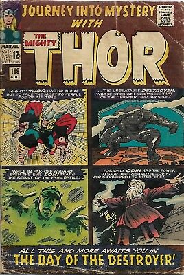 Journey into Mystery #119 (Aug 1965, Marvel) - Introduction of Thor's friends