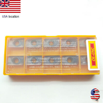 US- 10pcs CK APMT1604PDER-H2 carbide insert for stainless steel