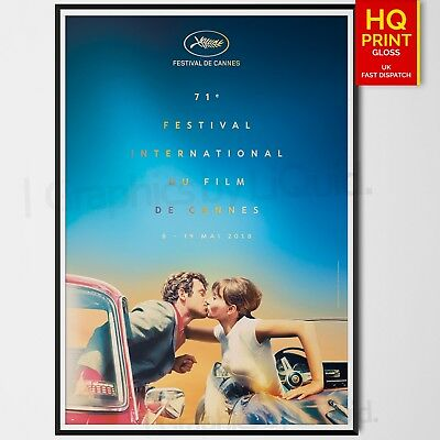 Cannes Film Festival 2018 Poster International Event Poster | A4 A3 A2 A1 |