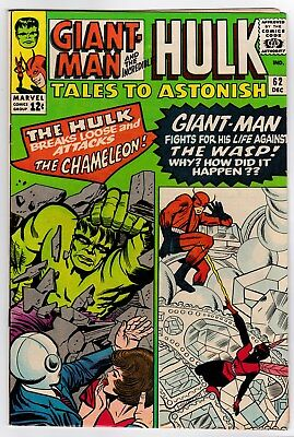 Tales To Astonish # 62 (1964) VF