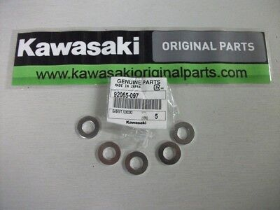 Kawasaki Road Bike Oil Sump Washer (Pack of 5) 92065 097