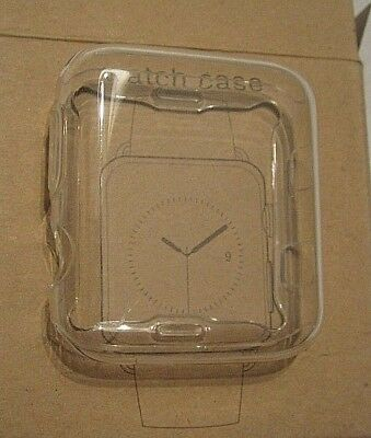 Fits iWatch Apple Watch Screen Protector / Watch Case, 42mm S2, Free Shipping!
