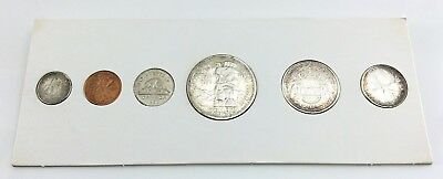 1958 Prooflike Set Canada Uncirculated Canadian Coins In Packaging F831