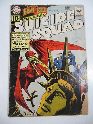 Brave & Bold #38-Suicide Squad (DC Comics 1961) Early Appearance