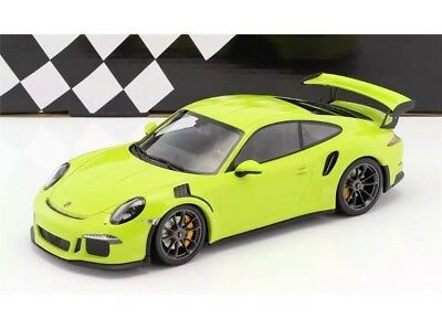 New 1/18 Minichamps 2015 Porsche 911(991) GT3 RS Light Green 1,002pcs