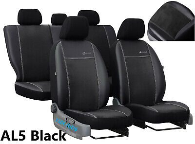 MAZDA 6 Mk1 HATCHBACK 2002-2008 LEATHER & ALCANTAR SEAT COVERS MADE TO MEASURE