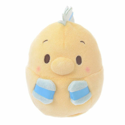 Disney Store Japan Little Mermaid Flounder Ufufy Pocket Plush New with Tags