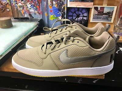 quality design 2f73c 5885c Nike Court Borough Low KhakiMetallic Pewter Size US 14 Mens 838937 200