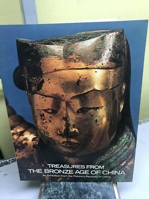 TREASURES FROM THE BRONZE AGE OF CHINA, SOFTCOVER (bb5)