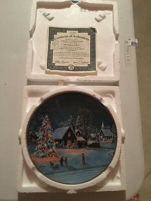 Jesse Barnes Collector Plate - Oh Christmas Tree