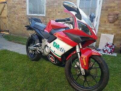 Gilera SC125. 2008. 2t. Vgc. Low miles. TZR engine. Full power. New MOT