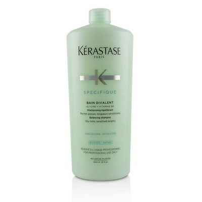 NEW Kerastase Specifique Bain Divalent Balancing Shampoo (Oily Roots, 1000ml