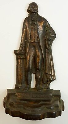 Vintage George Washington Cast Iron Bookend - Single With No Matching Pair
