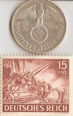 -* WW2- *german and *US - stamps  and coins +...