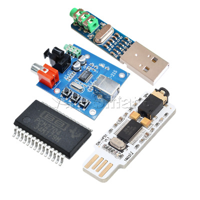 PCM2704 USB 5V Powered 3.5mm DAC to S/PDIF Mini USB Sound Card Decoder Board
