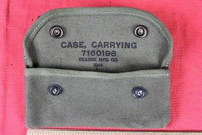 1944  WWII US  GRENADE LAUNCHER SIGHT CANVAS CARRYING CASE 7160198  Excellent