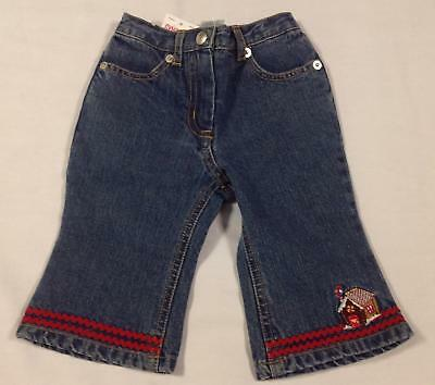NWT Gymboree SUGAR & SPICE gingerbread house ric rac flare jeans 6-12