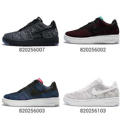 half off 4ca92 86a0c Nike Wmns AF1 Flyknit Low Air Force 1 FK Women Shoes Sneakers Trainers Pick  1